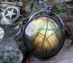 Labradorite Hidden Pentacle 2