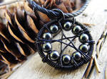 Hematite WireWrapped Pentacle2