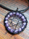 Amethyst Eight Pointed Star
