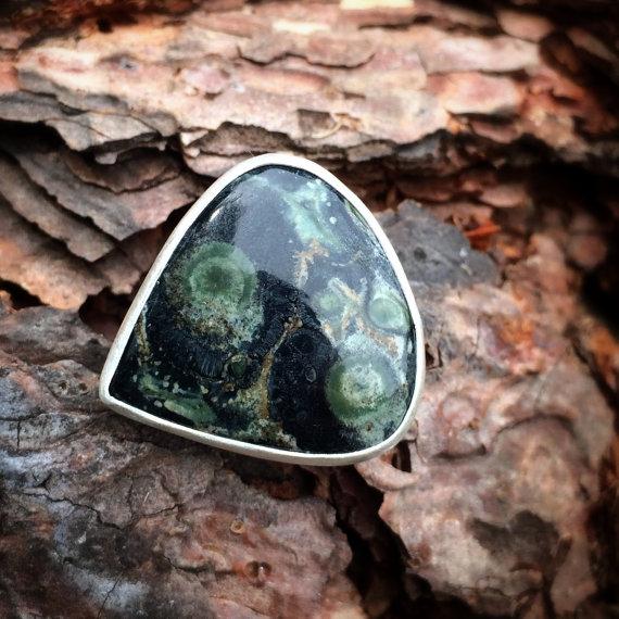 Kimberlite Ring by MoonLitCreations