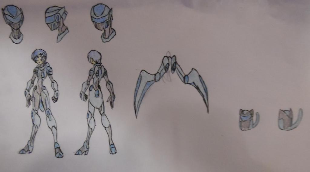Amia Mizonis (Artemis), Symbiote Armor, Jet Mode, by