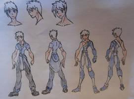 Jake Jackson, casual and Avatar attire by StoneMan85