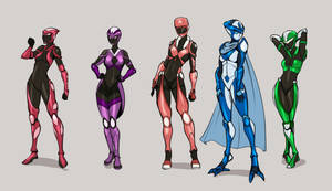 COM - Omni Infinity Strong yet Beautiful Girls