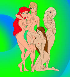 AKH Group Eyecatchers 1 - Ariel and sisters 1 by StoneMan85