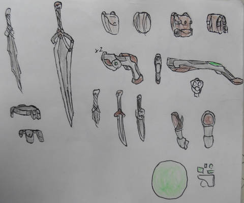 Brakk Weaponry and Equipment