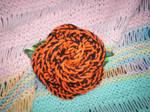 EGL Tiger Rose Hair Bow