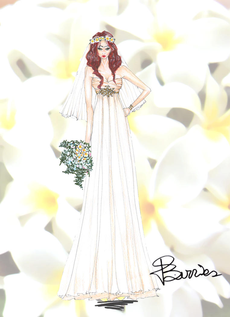 Bride And Flowers Collection Plumeria By DsBerries On DeviantArt