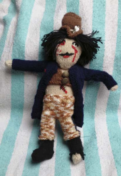 Knitted Steampunk Zombie by Talaganieth