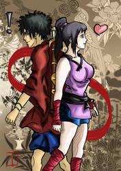 Meet again: Mugen and Yatsuha