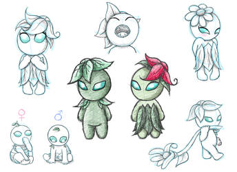 Budling Sketches by AskTheExile