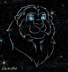 Mufasa In The Night Sky  2019 by Lily-the-pink