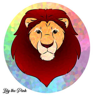 Stained Glass Lion  - April 2019