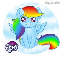 So Cute Chibi MLP Rainbow Dash - July 2019