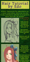 TUTORIALS: OUTDATED Hair Tutorial PL
