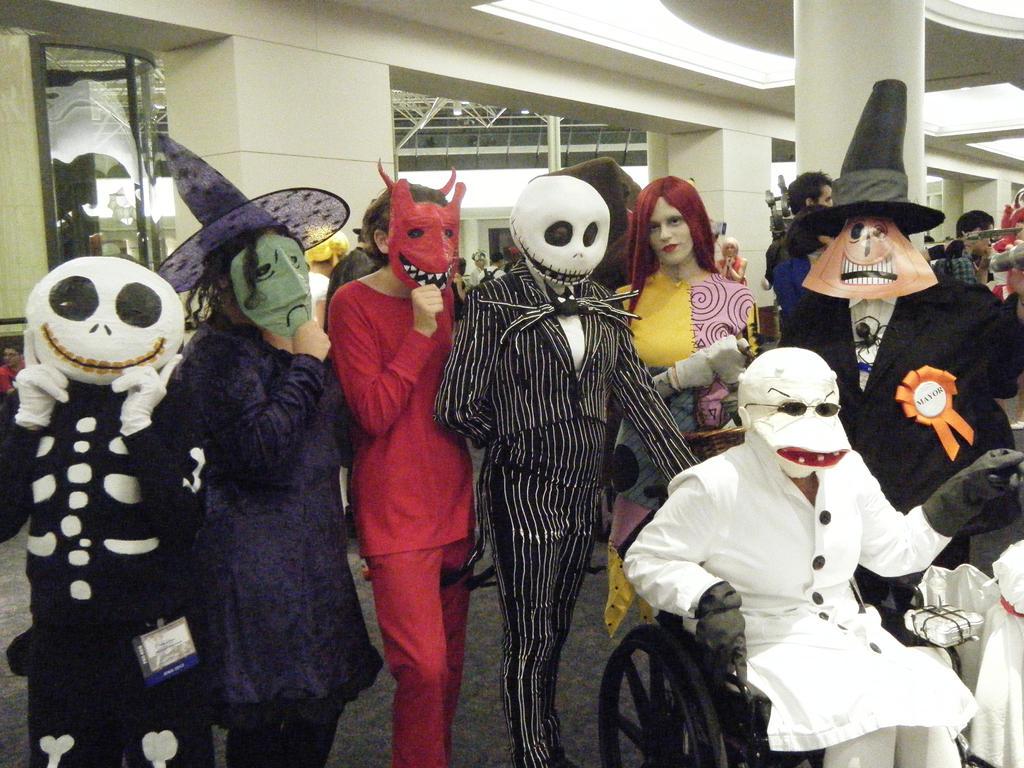AWA 2013: Nightmare Before Christmas by NBCWerewolf on DeviantArt