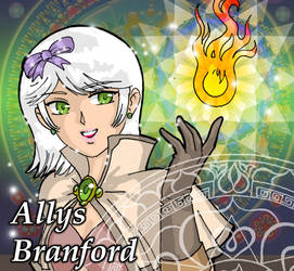 Allys Branford, The Magician by Cleph