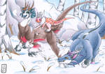 Monthly Quest: Ready for a snowball fight by Jalohauki