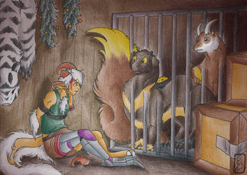 The Pirate's Prisoners by Jalohauki