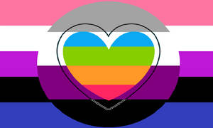 Genderfluid Esthesiosexual Panromantic Pride Flag