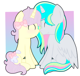 [C] Sweet Nuzzles by Bubbly-Storm