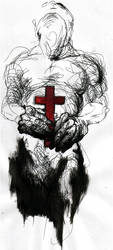 bless the martyr by fistsofbloodandink