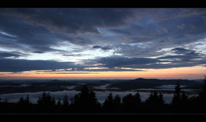 Sunset at Spruce Knob