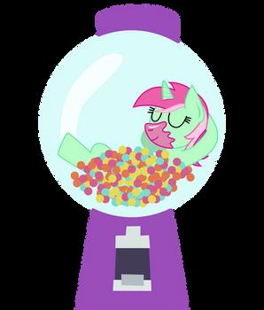 Minty Bubblegum - Cutie Mark