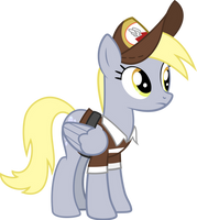 Derpy Hooves mailmare by CloudySkie