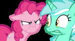 Mad Pinkie with Lyra