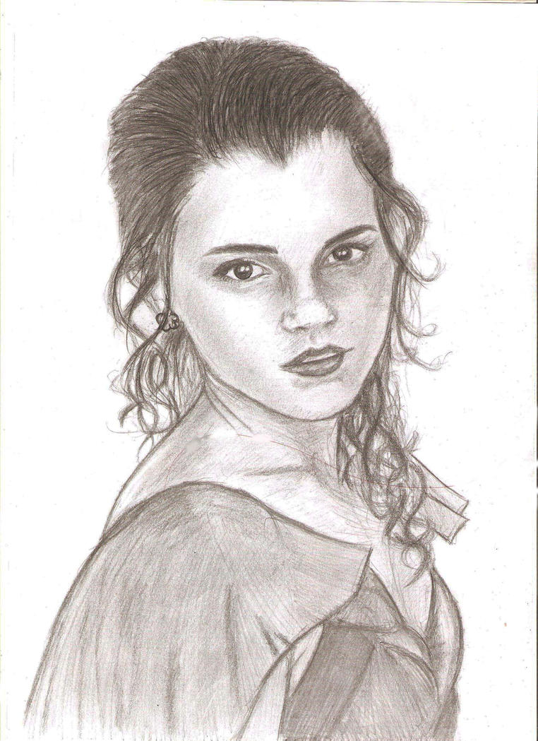 hermione granger by majagantzi - Harry Potter Coloring Pages Ginny