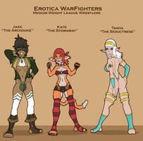 Erotica WarFighters Medium Weight Wrestlers