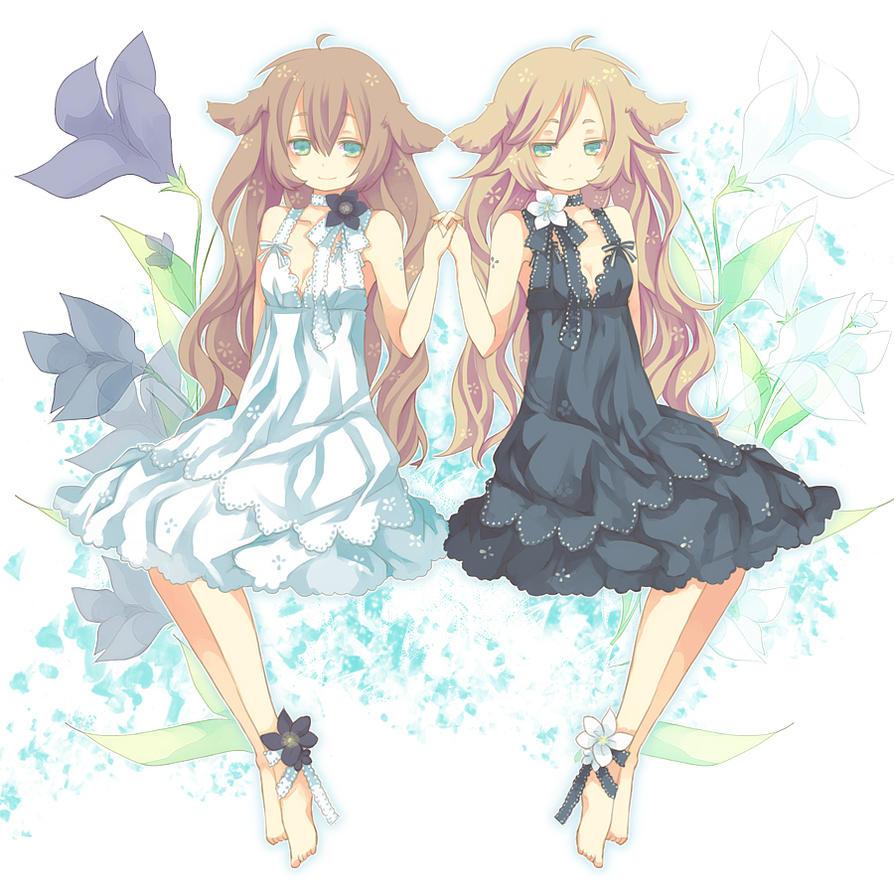 Twin girL by Aruya-p