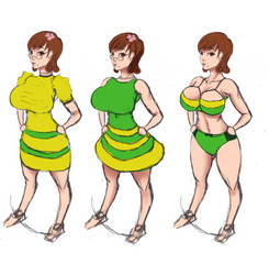 Stepford Chie Alt-outfits