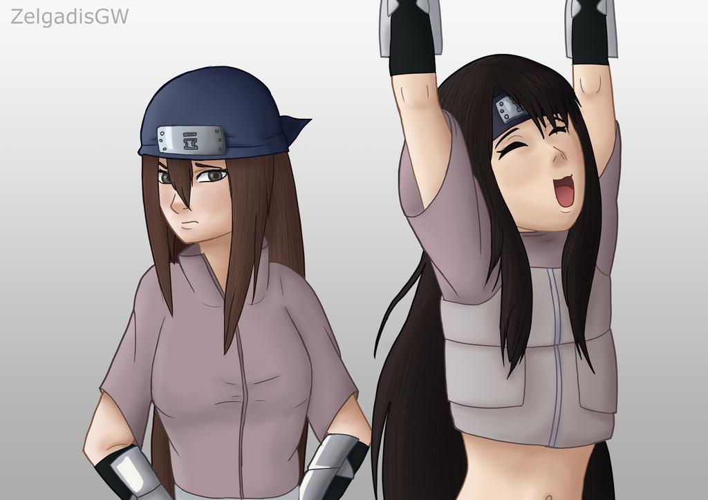 Sari and Yukata - embarrassment by ZelgadisGW