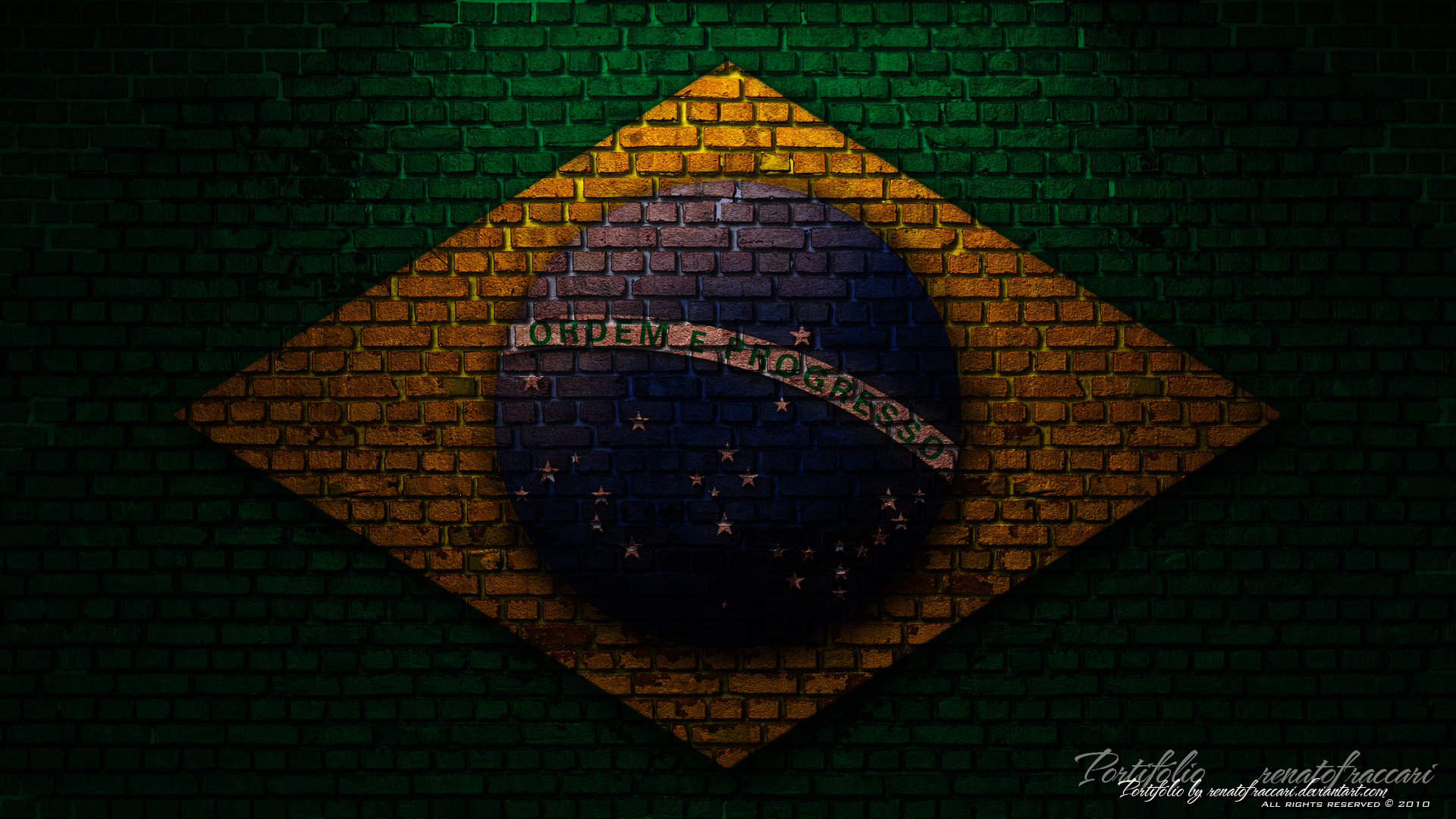 Brasil Wallpaper Art Renatofraccari Statistics