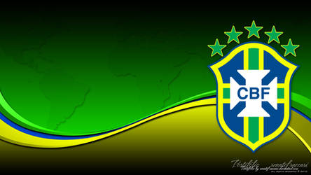 Brasil CBF Wallpaper Colors