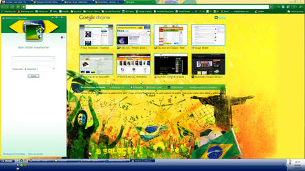 Google Chrome Theme Brasil