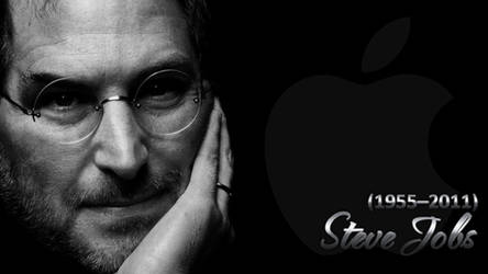 Steve Jobs Walpaper Black
