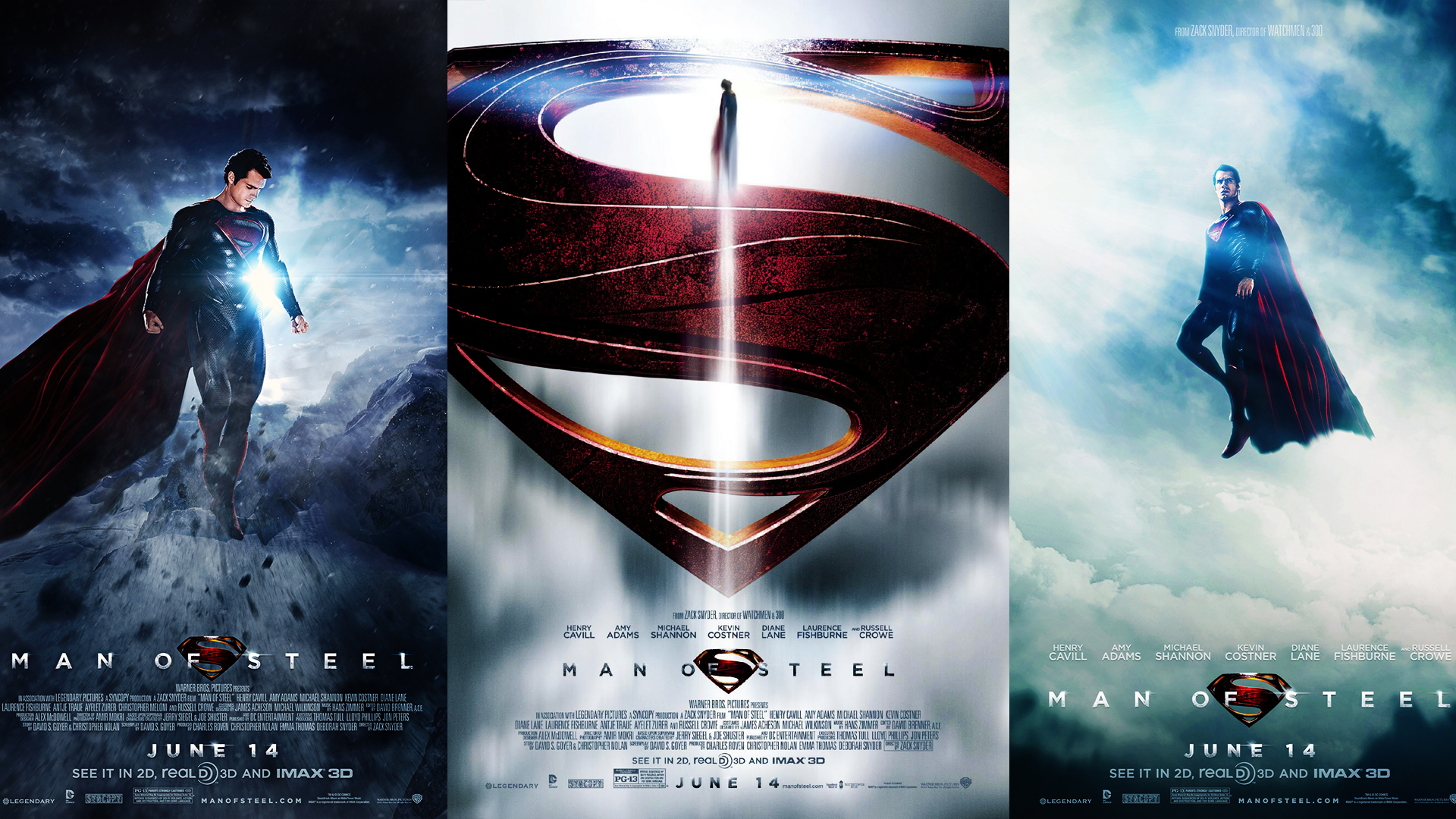 Man Of Steel Wallpaper Poster 1080p by renatofraccari
