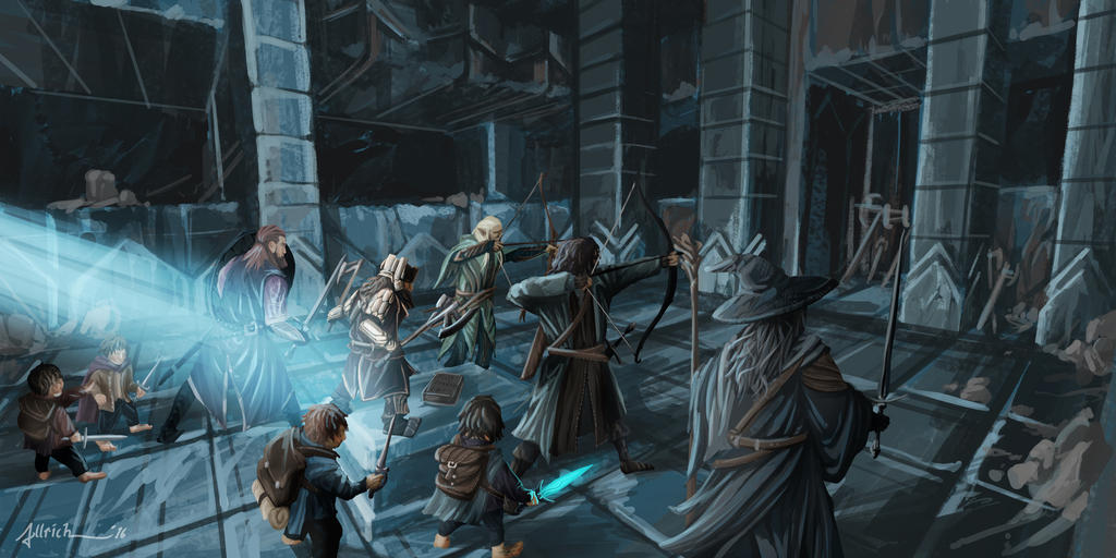 Drums in the Deep - Balin's Tomb by onlychasing-safety