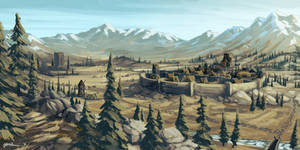 Skyrim - Whiterun by onlychasing-safety