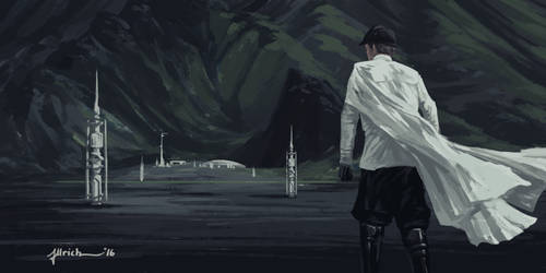 Rogue One - Krennic's Arrival by onlychasing-safety