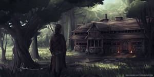 Medieval Inn by onlychasing-safety