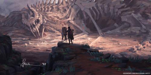Dragon Graveyard by onlychasing-safety