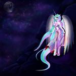 Princess Celestia (anthro, new) by teridax63