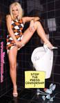Sandra Shine Toilet Attack
