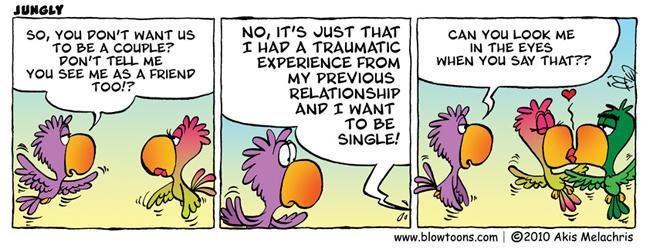 Jungly comic at blowtoons