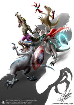 Raptor Squad : Age of Jurassic