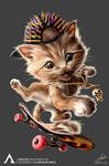 SKATER CAT