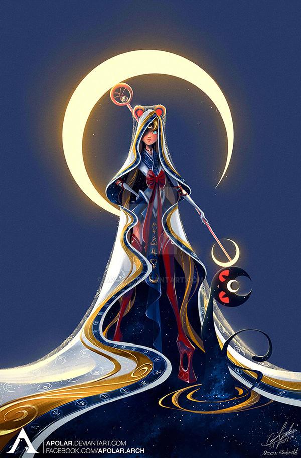 Character Design Challenge Sailor Moon : Sailor moon character design challenge by apolar on